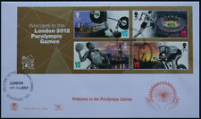 Unaddressed FDC Welcome to the Paralympic Games