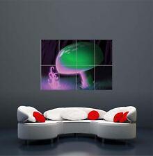 Trippy Mushrooms Giant XXL Poster Art Print