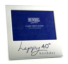 Happy 40th Birthday Photo Picture Frame Gift Present 72240
