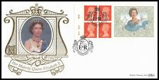 1996 GB Queens 70th Birthday Cyl Label Benham Gold 500 (116) Official FDC