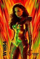 "Wonder Woman 1984 Movie Poster Gal Gadot 2020 New Art Print 14×21"" 27×40"" 32×48"""