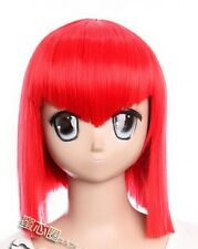 W-336 Black Butler Madama red cosplay peluca Wig rojo red calor fijo Manga Anime