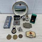 International Harvester / Navistar Lot Of 14 Items Coins Belt Buckles Ash Tray