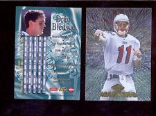 1997 CE Collectors Edge Masters DREW BLEDSOE New England Patriots Card