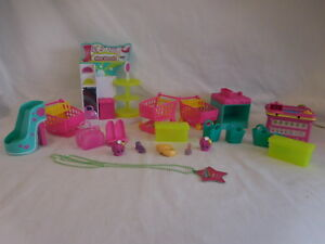 Shopkins Shoe Dazzle Fashion Spree Playset Loose with Necklace toy