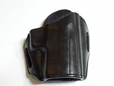 "Sig Sauer P229 w/Rail / P227 3.9""   HANDMADE LEATHER HOLSTER OWB Black"