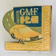 Groupe GMF L'Assurance Car Auto Insurance Pin Badge Brooch Vintage (C4)