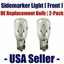 Sidemarker (Front) Light Bulb 2pk - Fits Listed Chevrolet Vehicles - 24