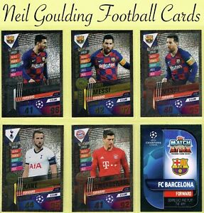 MATCH ATTAX 101 2019-2020 ☆☆☆☆☆ LIMITED EDITION ☆☆☆☆☆ Football Cards