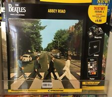THE BEATLES VINYL COLLECTION ISSUE 1 ABBEY ROAD FREE BINDER POSTER MAG 180G VINL