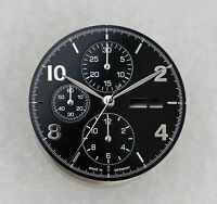 Zifferblatt und Zeigersatz für ETA Valjoux 7750 / Dial and Hands Set 7750 - NOS