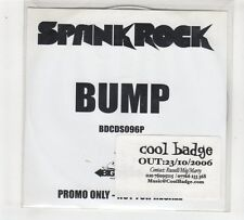 (GP916) Spank Rock, Bump - 2006 DJ CD
