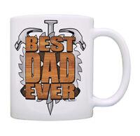 Best Dad Mug Best Dad Ever Woodworking Gifts for Dad Coffee Mug Tea Cup