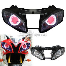 Demon Halo Angel Eye Headlight Assembly Projector Lamp for Yamaha YZF R6 2008-15