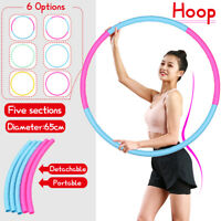 Detachable Portable Exercise Hoop Gym Fitness Workout Health Lose Weight Sports