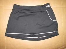 Womens FILA tennis skort skirt w/ built n spandex shorts sz M Md Med