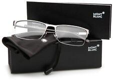 NEW MONT BLANC MB 636 014 RUTHENIUM EYEGLASSES WOMEN's GLASSES 56-17-145mm Italy
