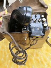 US WW2 signal corps TELEPHONE de campagne EE 8-B 1er Modele jeep dodge gmc