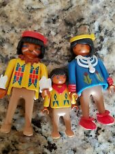 Playmobil  Western Indian Native American Family