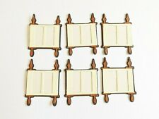 Scroll Scripture Religious Papercraft Embellishments Scrapbooking Card Making