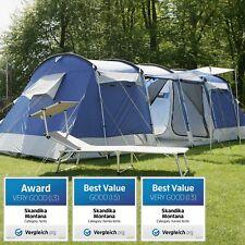 Skandika Montana 8 posti tende campeggio familiare 700x310 cm blu nuova