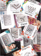 10  Different - Full Packets - BINDIS / Temporary Tattos - #01- FREE SHIPPING