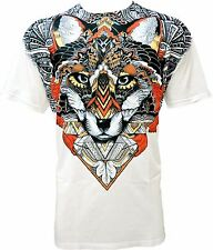 Fox Popart T-Shirt * Switch Man * Fuchs White Weiss * Gr XL sm027