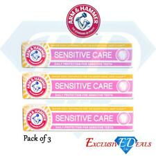 Arm & Hammer Sensitive Care Toothpaste Daily Protection Sensitive Teeth x 3