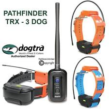 Dogtra 3 DOG Pathfinder TRX GPS Tracking ONLY Bundle 9-Mile Expands To 21 Dogs