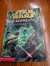 Star Wars Book The Dark Rival by Jude Watson Paperback, 1999 Jedi Apprentice #2