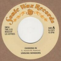 Unsung Wonders Cashing In Sonic Wax demo SW34 Soul Northern Motown