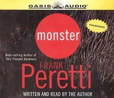 CD Auion Unabridged Monster by Frank E. Peretti (Thrilling Captivation Audio)