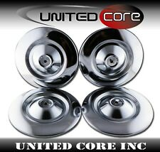 Wheel Center Steel Hub Caps For Peugeot 504 Saloon Wagon 1968-1982 Set of 4