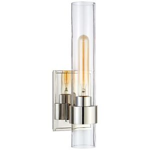 Visual Comfort Presidio Petite Sconce In Polished Nickel S2165PN-CG