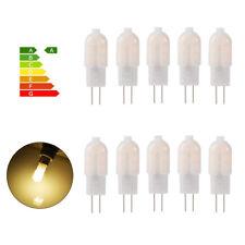 10x Dimmable G4 3W LED Bi-pin Capsule Light Bulb Lamp DC 12V Warm White LD1247