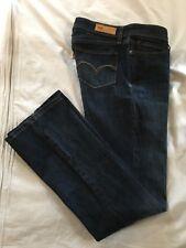 (*-*) LEVI'S * Womens BOLD CURVE Bootcut Blue Jeans / Denim * Juniors Size 9