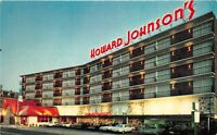 Atlantic City New Jersey 1960s Postcard Howard Johnson's Motor Lodge Motel