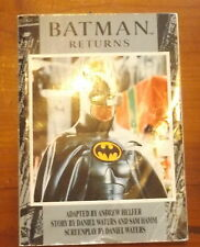 Batman Returns Book of thr Movie Michael Keaton Cover 1992