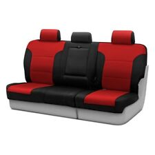 Coverking Chevy Blazer 95-97 Seat Covers Neosupreme Back Row Black/Red