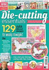Die Cutting Essentials Magazine Issue 28 - with Tonic Studios Peace Dove Die