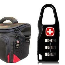 Candado para equipaje. codigo de combinacion. Aleacion suiza cruzada!