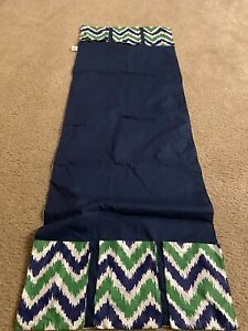 Bacati Blue Green Zigzag Changing Table Storage Runner