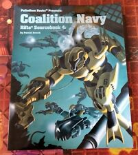 AUTOGRAPHED Rifts Coalition Navy Sourcebook 4 Near Mint Palladium Roleplaying