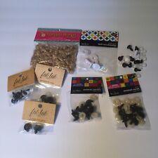 Doll Making  Plushie Craft Supplies Wig Eyes Nose Kits