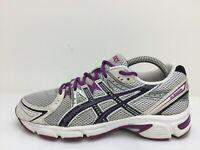 Asics Gel-Impression 5 Grey Textile Sneaker Trainers T2F6N Women UK 6 Eur 39.5
