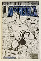INVINCIBLE #100 COMIXOLOGY VARIANT • IMAGE SKYBOUND • Ottley B&W Sketch 500 • NM