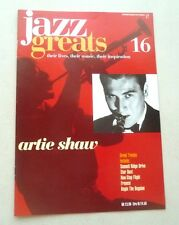 ARTIE SHAW  JAZZ GREATS THEIR LIVES THEIR MUSIC THEIR INSPIRATION