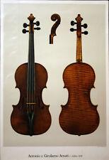 Poster Antonio e Girolamo Amati violino 1628