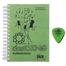 Das Ding 1 Kultliederbuch - mit Original Dunlop Plektrum - DUX66 - 9783934958661