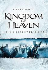 New - Kingdom of Heaven (DVD, 2006, 4-Disc Set, Directors Cut Widescreen)